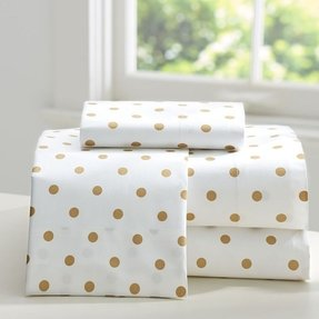 mainstays ip bfac gold in dot polka walmart a bed com bag set comforter