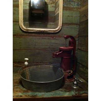 Ranch style sink