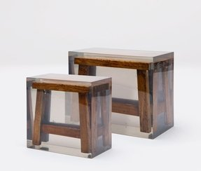 Resin bar stools 3