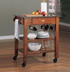 Rolling Butcher Block Kitchen Cart Kitchen Design Ideas