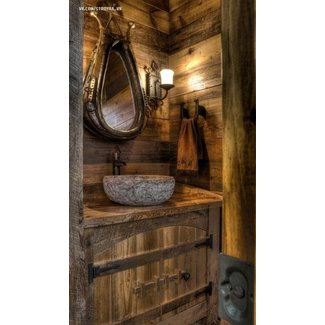 Rustic bathroom sinks 2