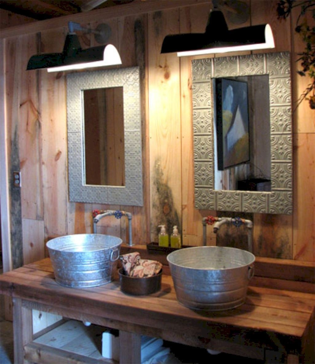 Rustic Bathroom Sinks