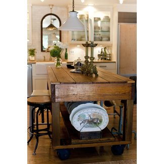 Rustic kitchen islands and carts 1