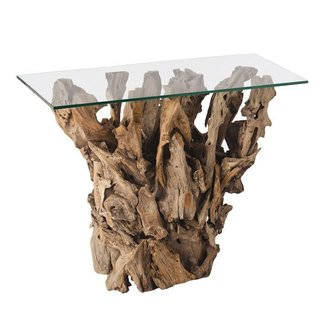 Sam allen arteriors home kingston driftwood console table