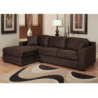 Sectional sofa with chaise and recliner