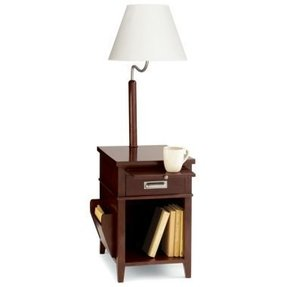 Side table with magazine rack 4