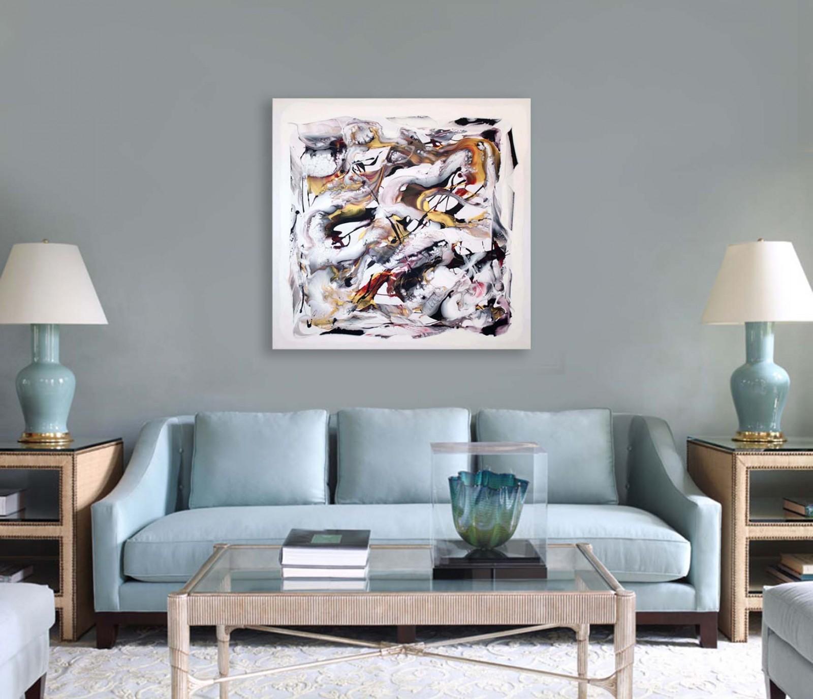 Sky Blue Sofa