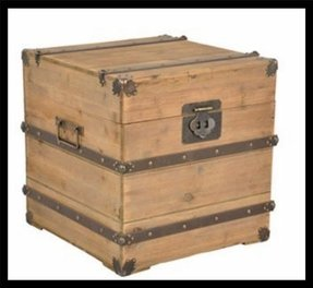 Storage trunk vintage storage trunk end table antique chest chic