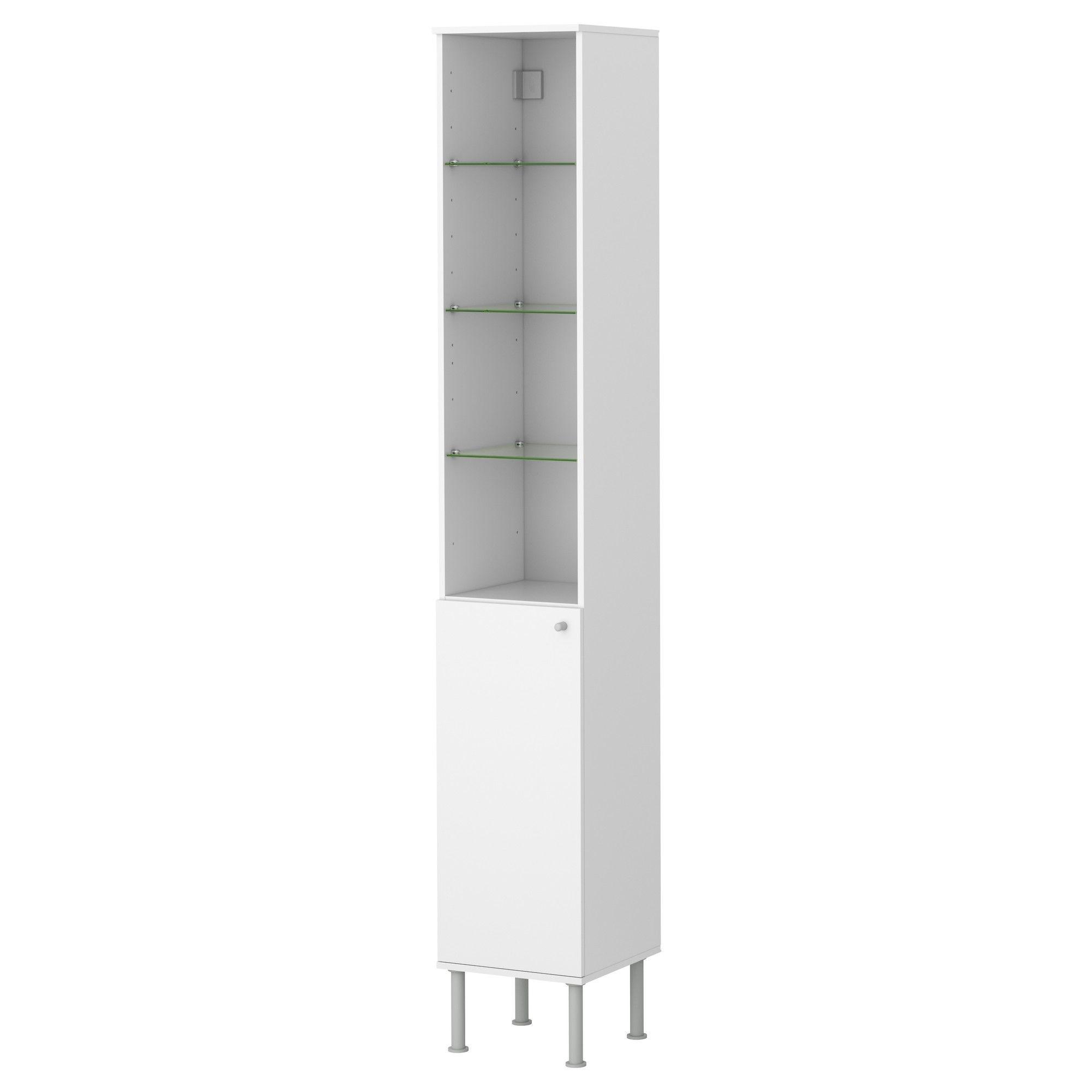 Attirant Tall Thin Cabinet