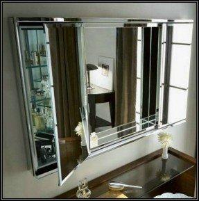 Tri Fold Medicine Cabinet Mirror