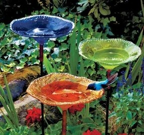 Unique bird baths 22