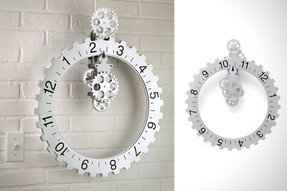 Unique wall clocks large 6