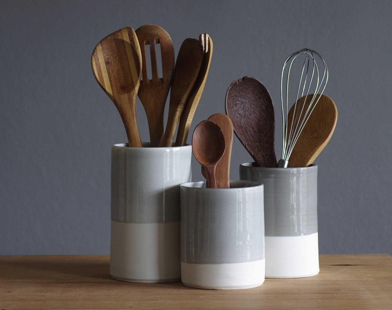 Ceramic Utensil Holders   Ideas On Foter