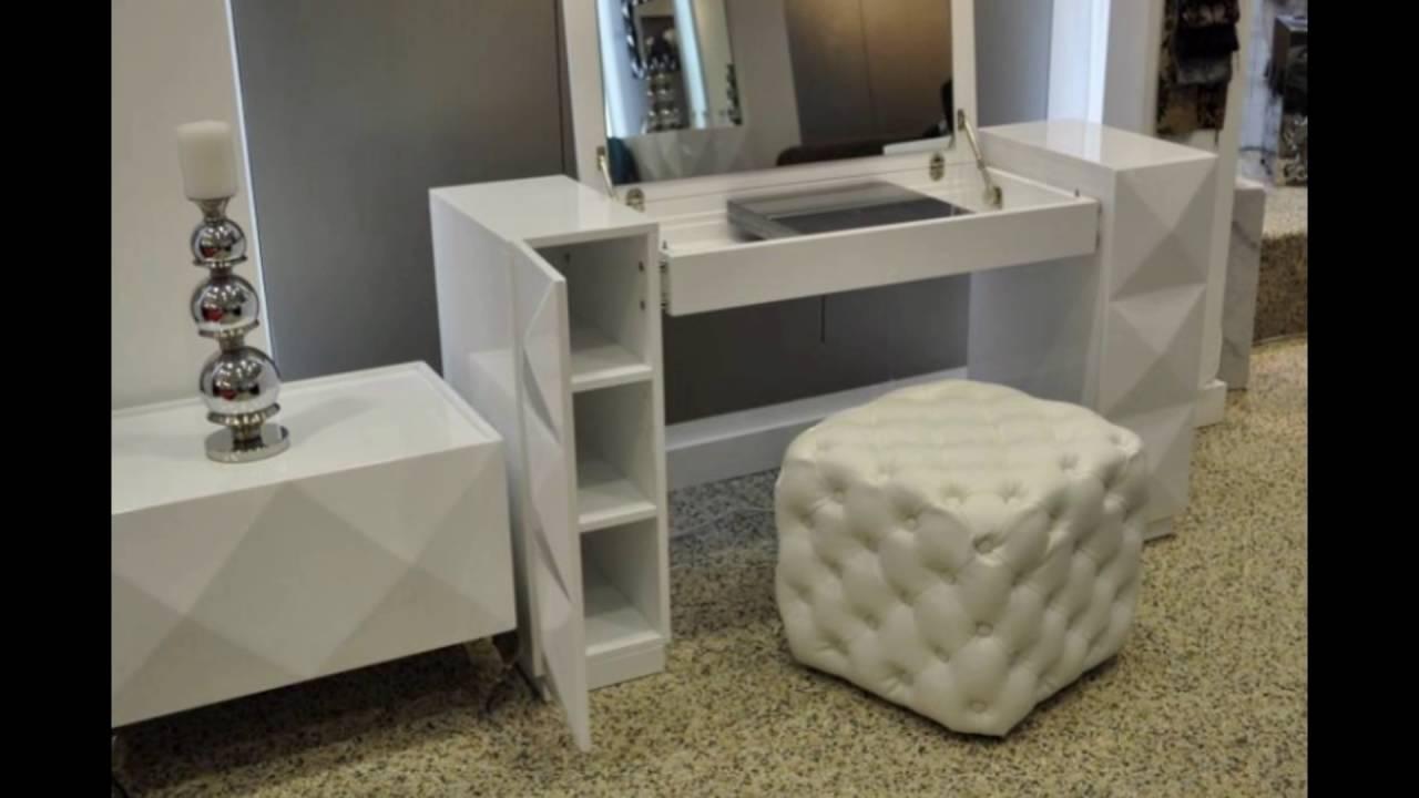 Vanity Desk White