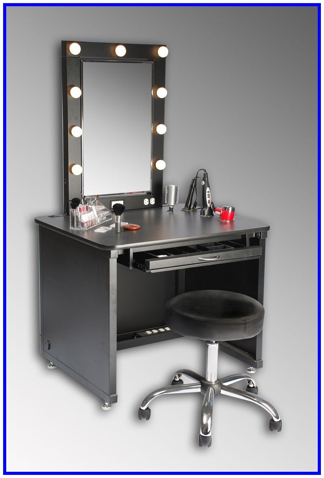 Beau Vanity Table Black
