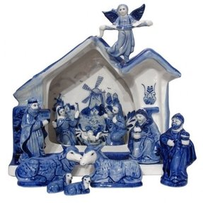 Vintage nativity sets