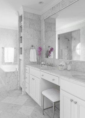 White makeup vanities 1