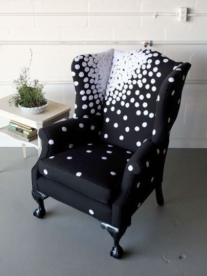 White Wingback Chair 2