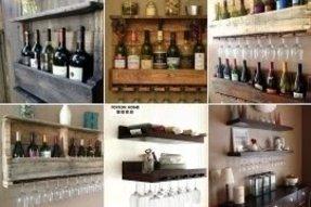 Wine Gl Holder Shelf