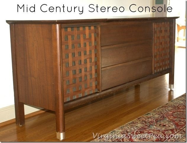 Merveilleux Wood Stereo Cabinet