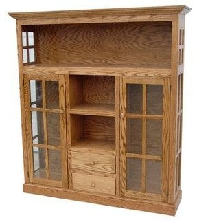 Wooden Bookcases With Doors - Foter
