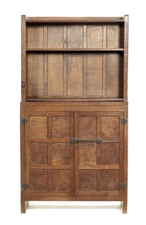 Wooden bookcases with doors 2