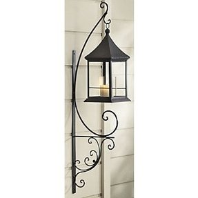 Wrought iron candle lanterns 1