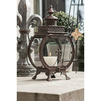 Wrought iron candle lanterns 12