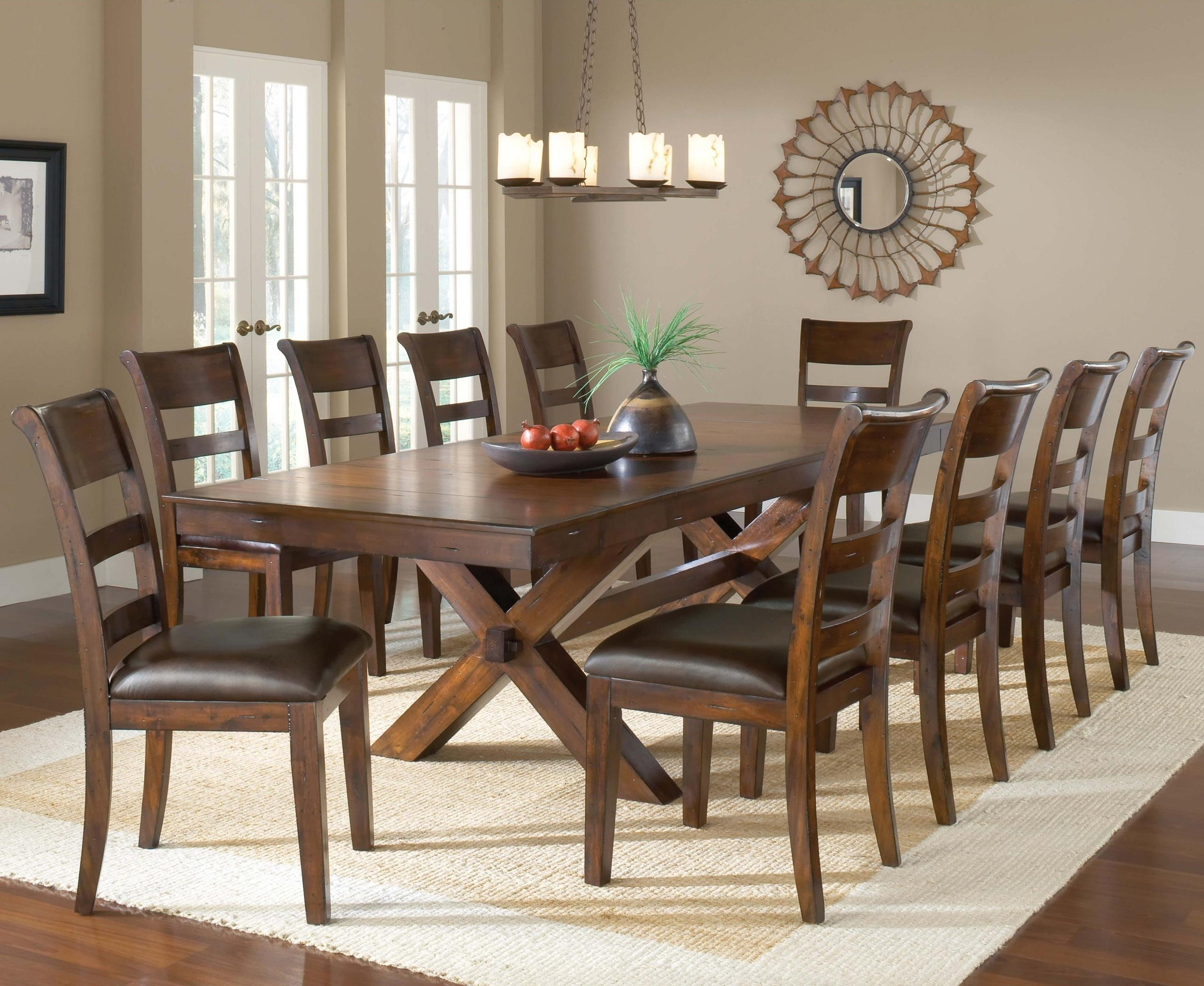 10 Seater Oval Dining Table