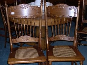 Oak Double Pressback Chairs For 2020 Ideas On Foter