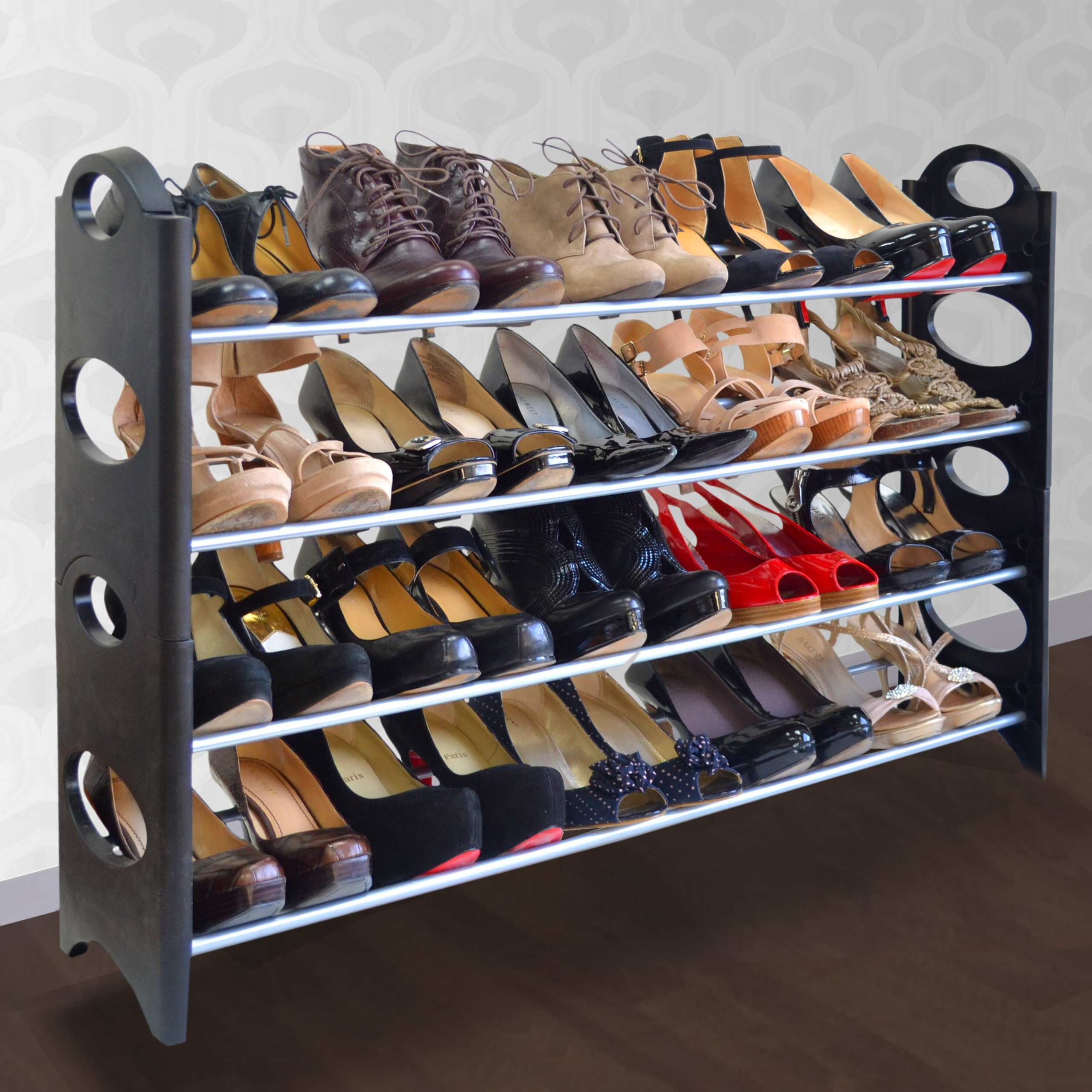20 Pair Shoe Rack