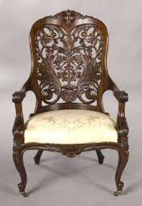 Mahogany Victorian Arm Chair Foter