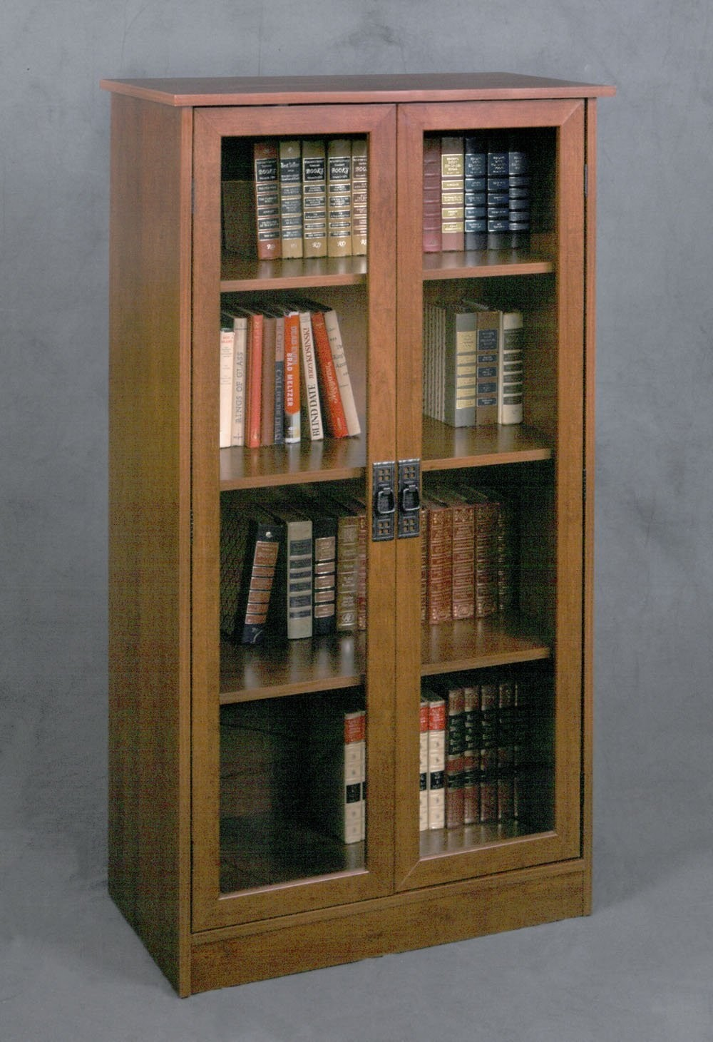 Ameriwood glass door bookcase 3
