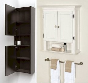 Bathroom Wall Mounted Cabinets Ideas