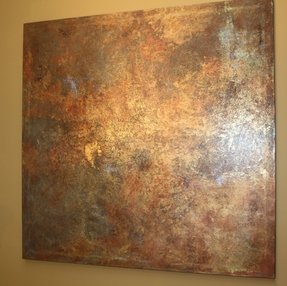 Brass wall art 7