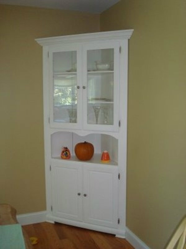 Built In Corner China Cabinet