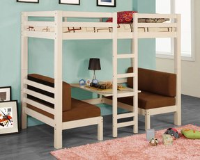 Bunk bed table