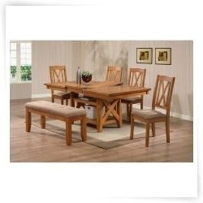 Butterfly Leaf Dining Table 12