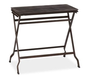 Carter metal folding tray table 5