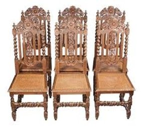 cbe8afbdeda19 Carved Oak Chairs - Ideas on Foter