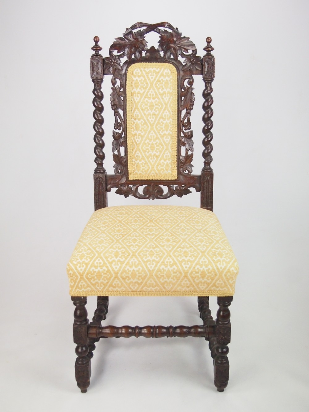 Chairs antique carved chairs antique oak chairs antique gothic chairs & Carved Oak Chairs - Foter