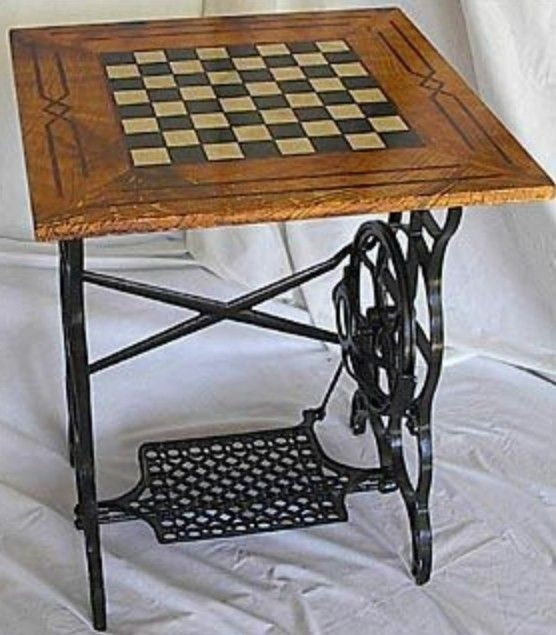 Chess Board Table