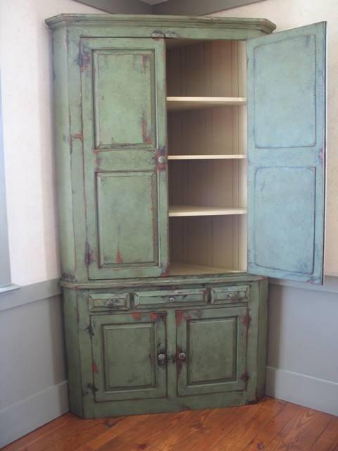 Corner Cabinet With Doors 17