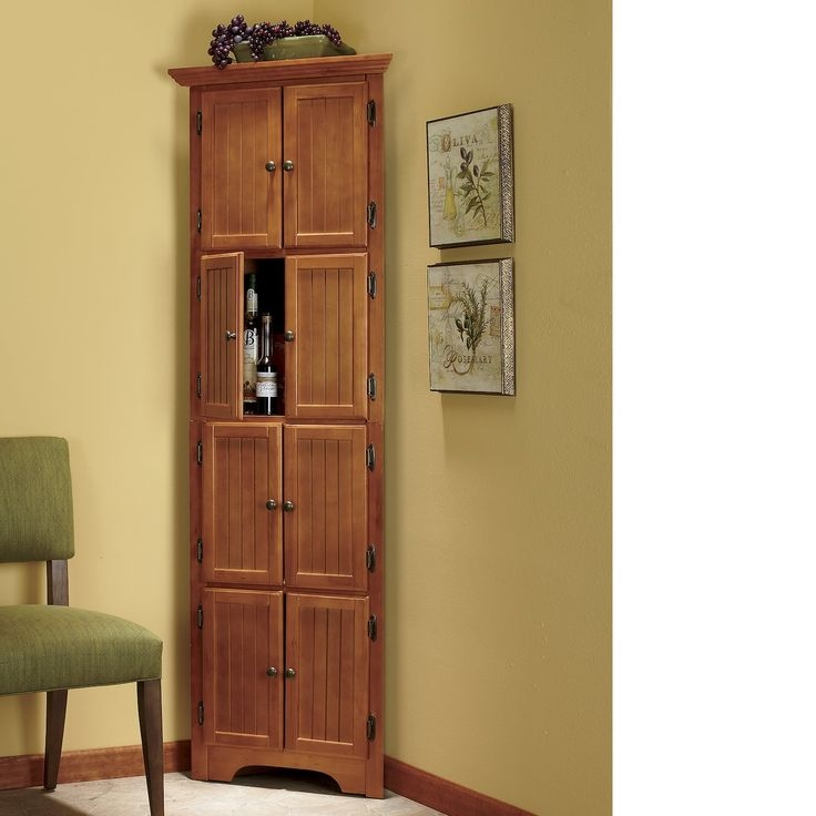 Corner Cabinet With Doors