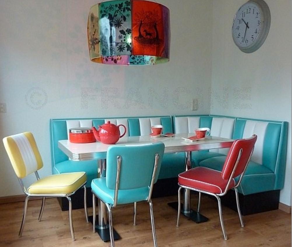 Attractive Corner Nook Dining Sets