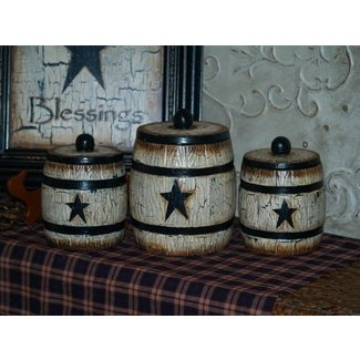 Country Kitchen Canister Set Ideas On Foter