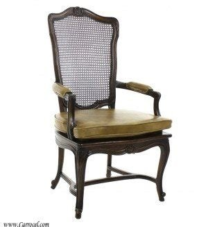 Cane Back Arm Chair Foter