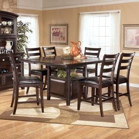 Details About Ashley Ridgley Counter Height Extension Table D520 32