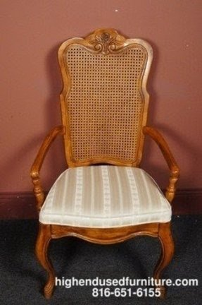 Details about drexel heritage cabernet classics cane back arm chair