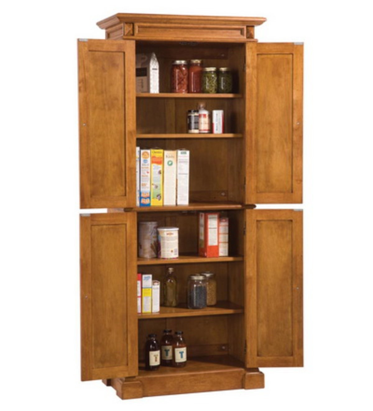 Free Standing Kitchen Storage Cabinets Details About Pantry Storage Cabinet